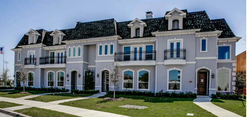 Our french-inspired 'Provence' community build in desirable McKinney, TX